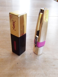 Packaging: YSL (left), L'Oreal (right)