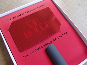 VIB Rouge Welcome Kit Inside
