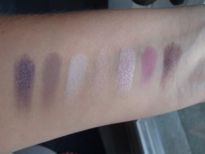 Marc Jacobs Beauty Eyeshadow Tease Swatches
